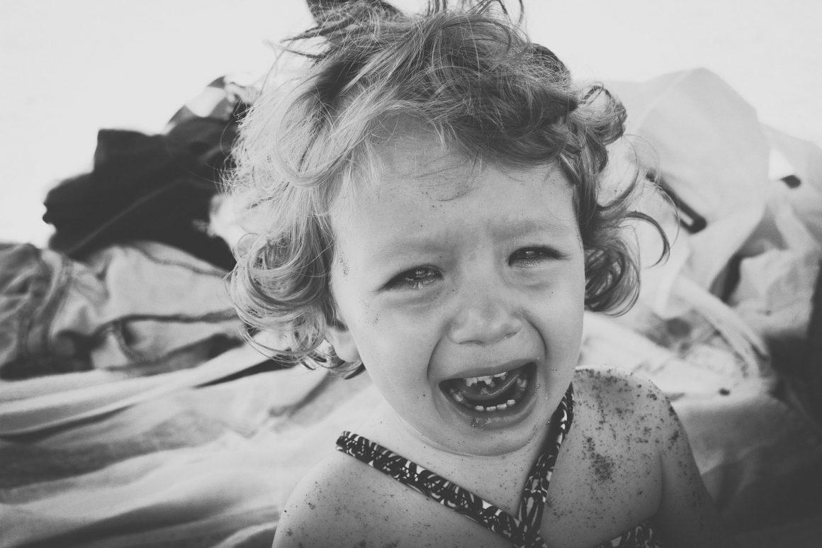 mon bébé pleure